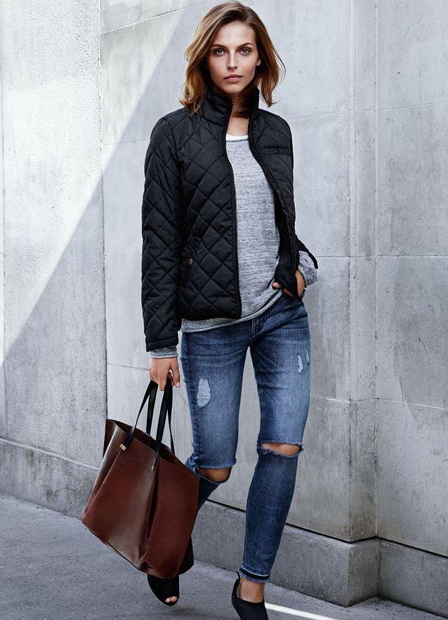 Стеганные куртки женские Москва