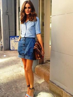 Женские джинсовые рубашки 2015 8