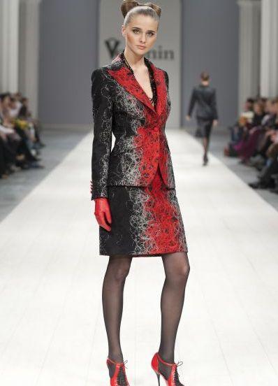Женские костюмы с юбкой 2013