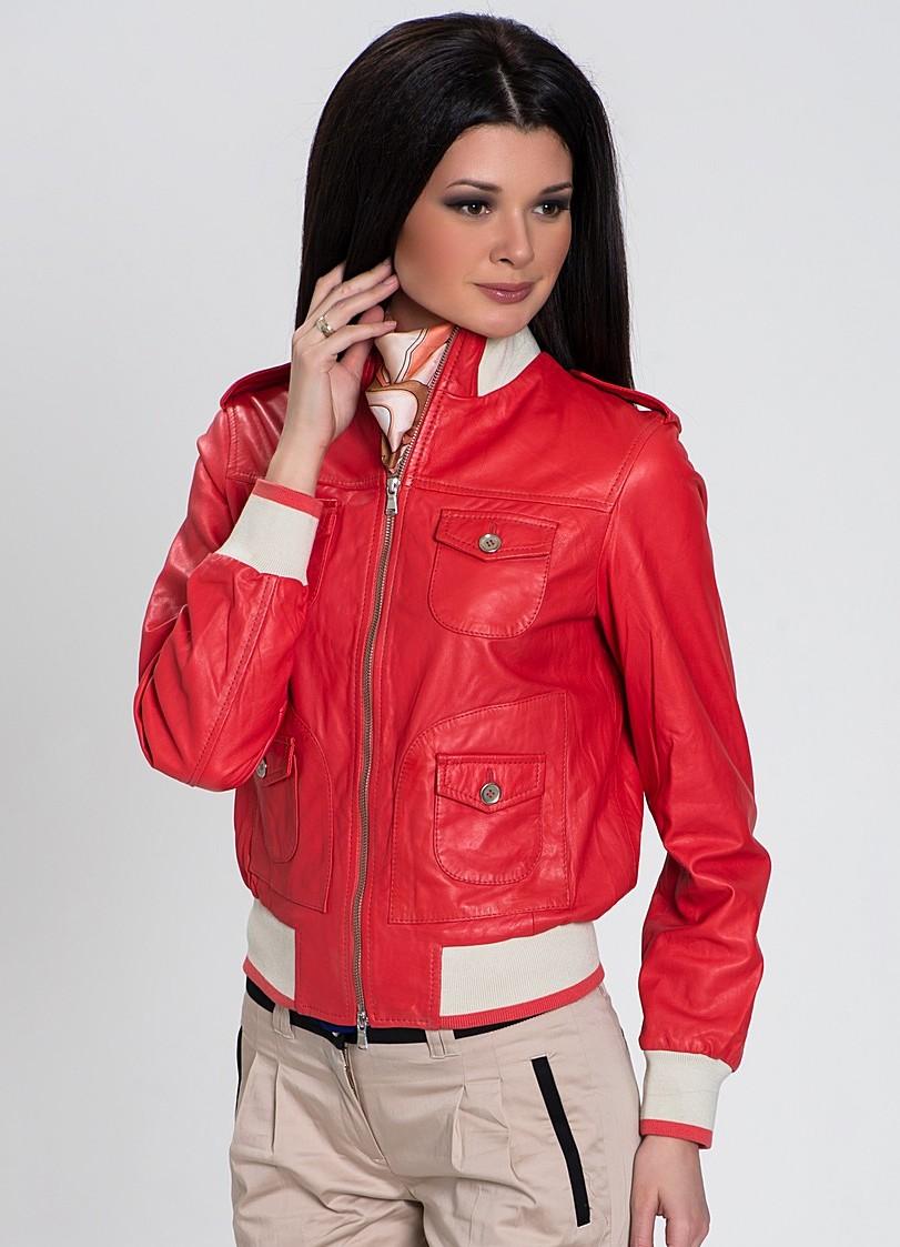 Кожаная куртка женская 2013