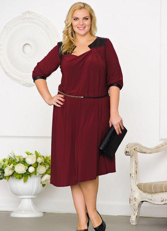 Мода для полных женщин 2016 за 50 лет платья выкройки