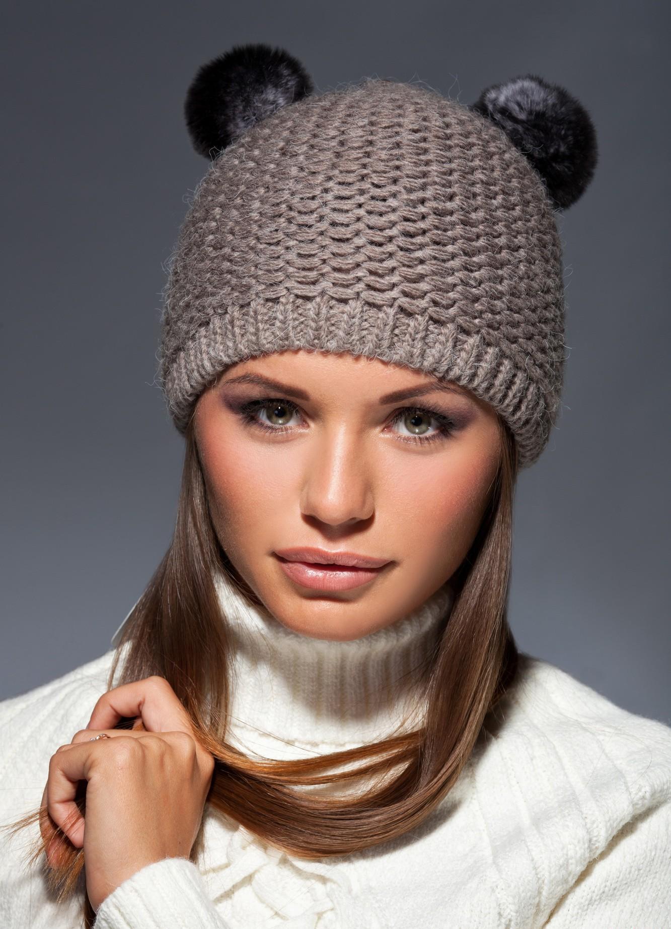 фото шапки женские