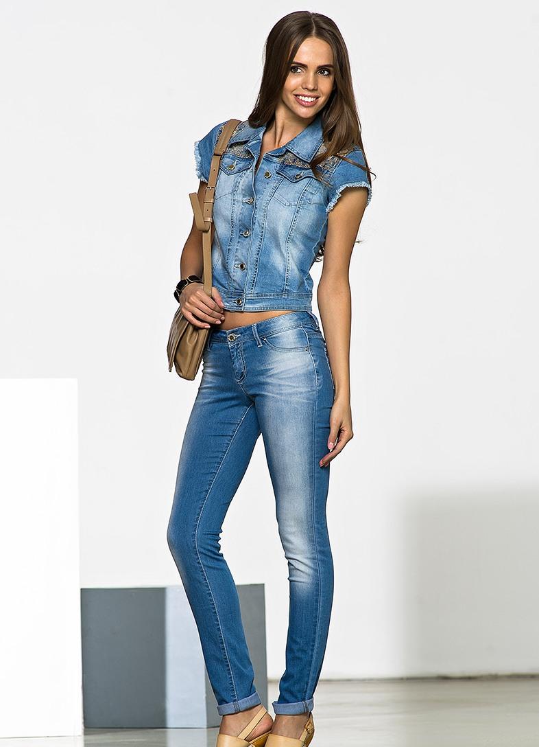 костюм джинсовый женский фото