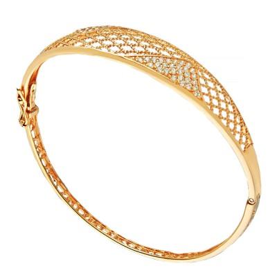 Золотые браслеты в восточном стиле
