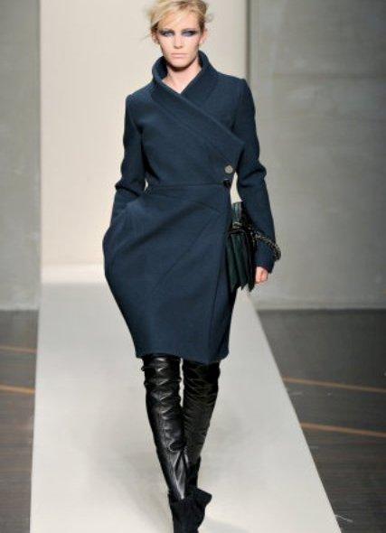 Модные женские пальто сезона осень-зима 2012-2013, лучшие фото стильн