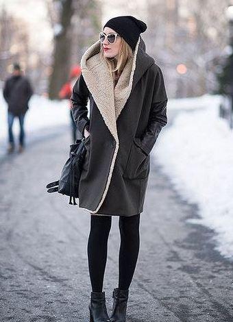 Пальто зимнее как