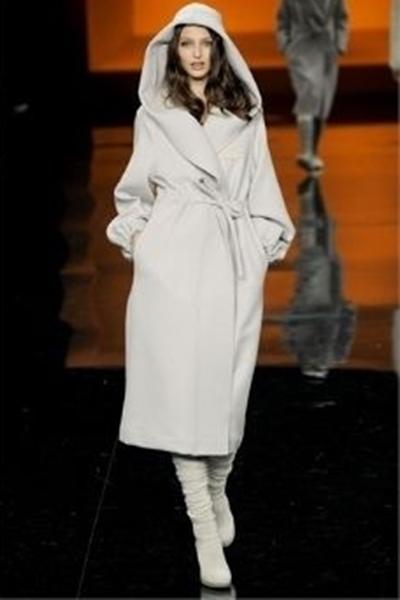 женское пальто с капюшоном фото