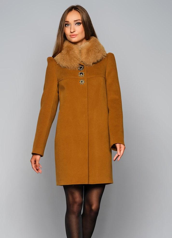 зимнее пальто без меха фото