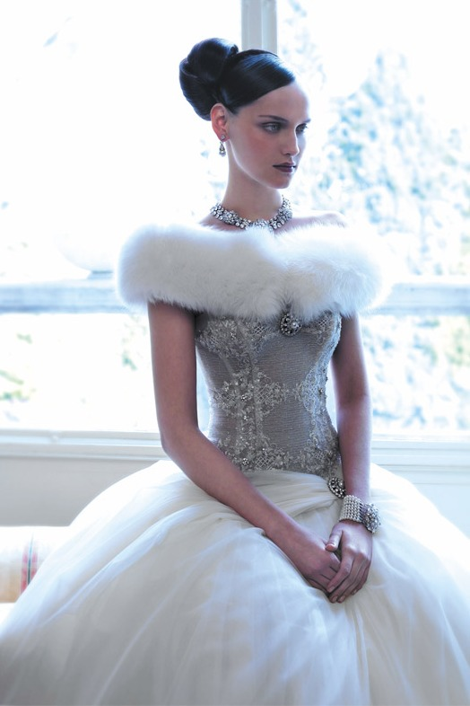 Зимние свадебные платья8