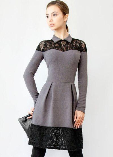 платье зимние фото