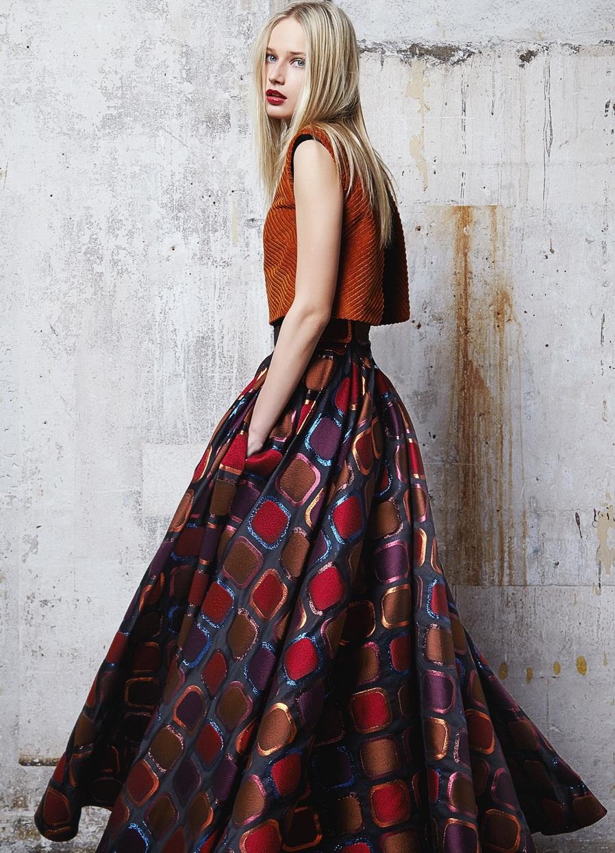 Красивые зимние юбка