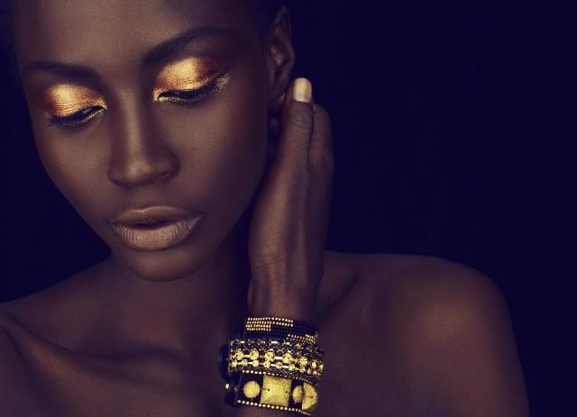 Негритянки макияж