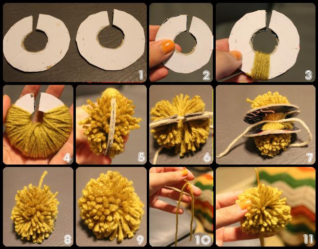 Как сделать пушистые шарики фото 428