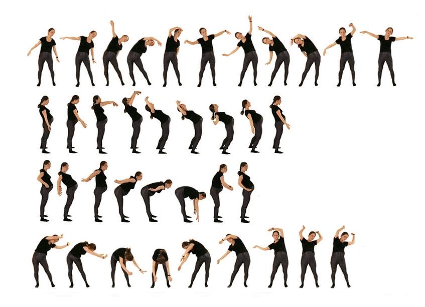 Гимнастика для беременных в домашних условиях. Упражнения 38
