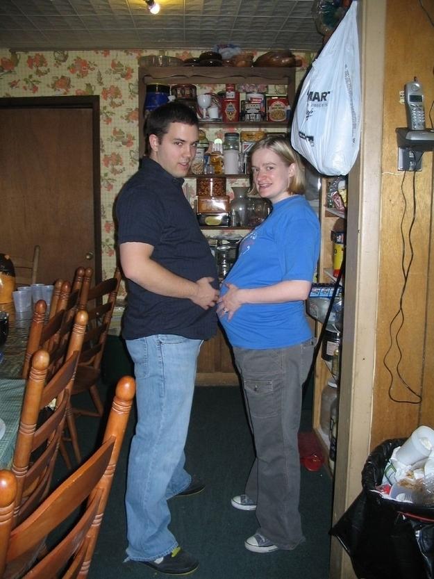 Набирать лишний «материнский» вес