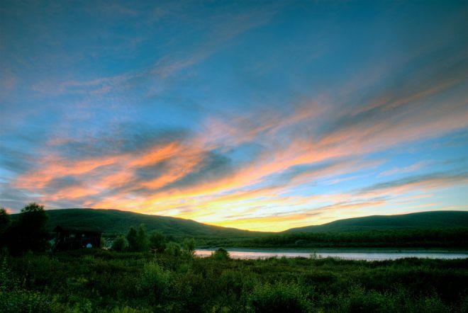 День длиной в два месяца на севере Лапландии
