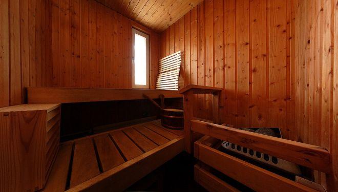 Традиционно деревянная финская баня