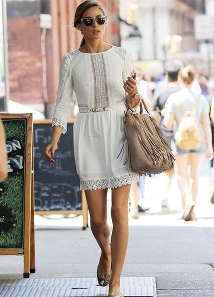 2e473db9e6a летнее белое платье с кружевом1 ...