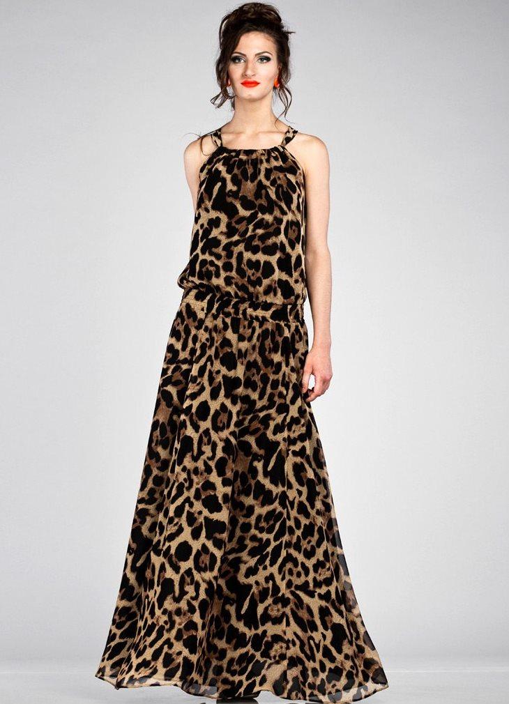 b73aa560915 леопардовое платье в пол1 ...