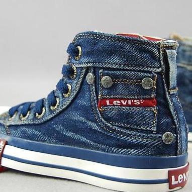 фото джинсовые кеды