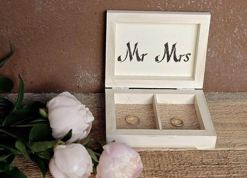 Коробочки для свадебных колец обманывайтесь этот