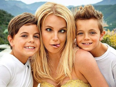 бритни спирс фото с детьми 2015