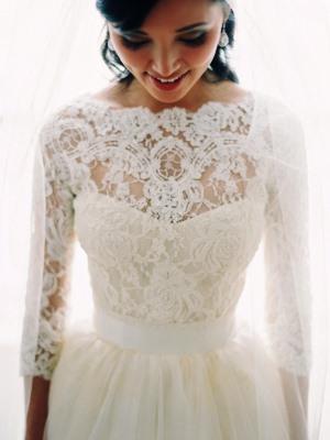 00f0a369a1eda48 ... Свадебное платье с рукавами из кружева5 ...