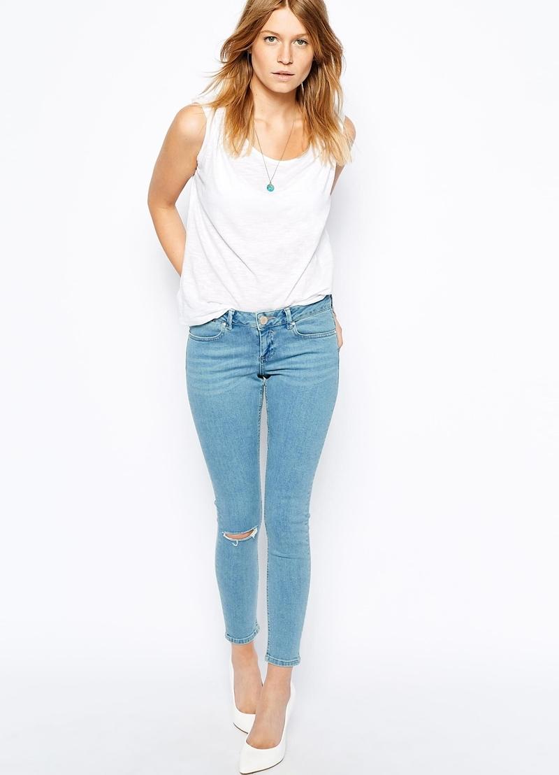... Модные женские джинсы-американки6 0812f5e47208d