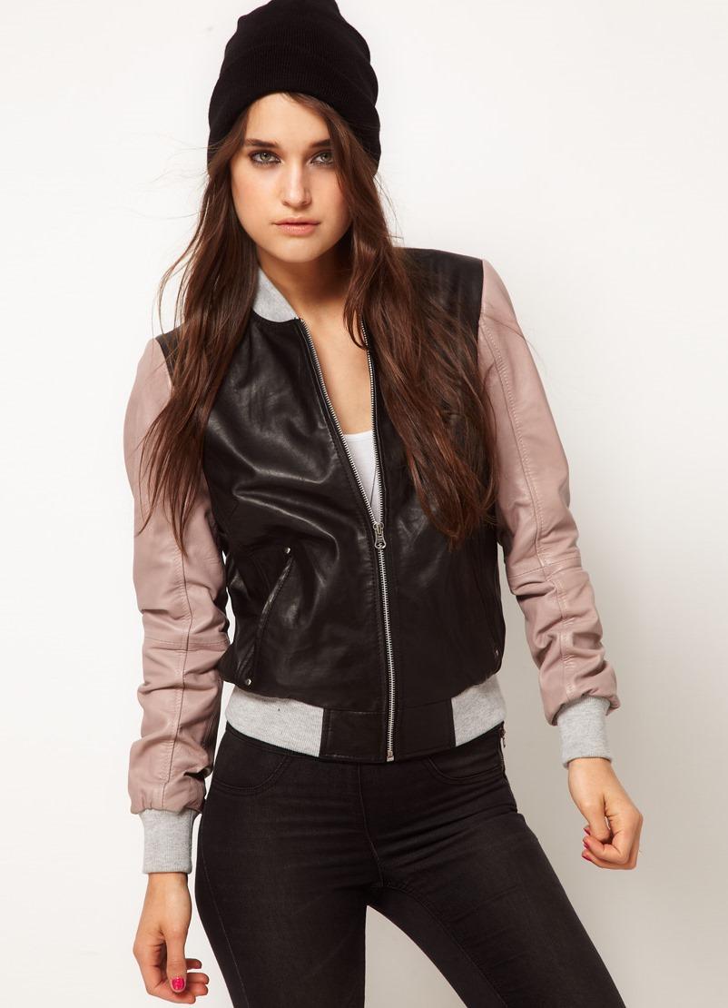 Кожаные куртки – мода 2015 cf19dd113ad53