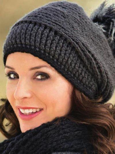 модные вязаные шапки осень зима 2015 2016
