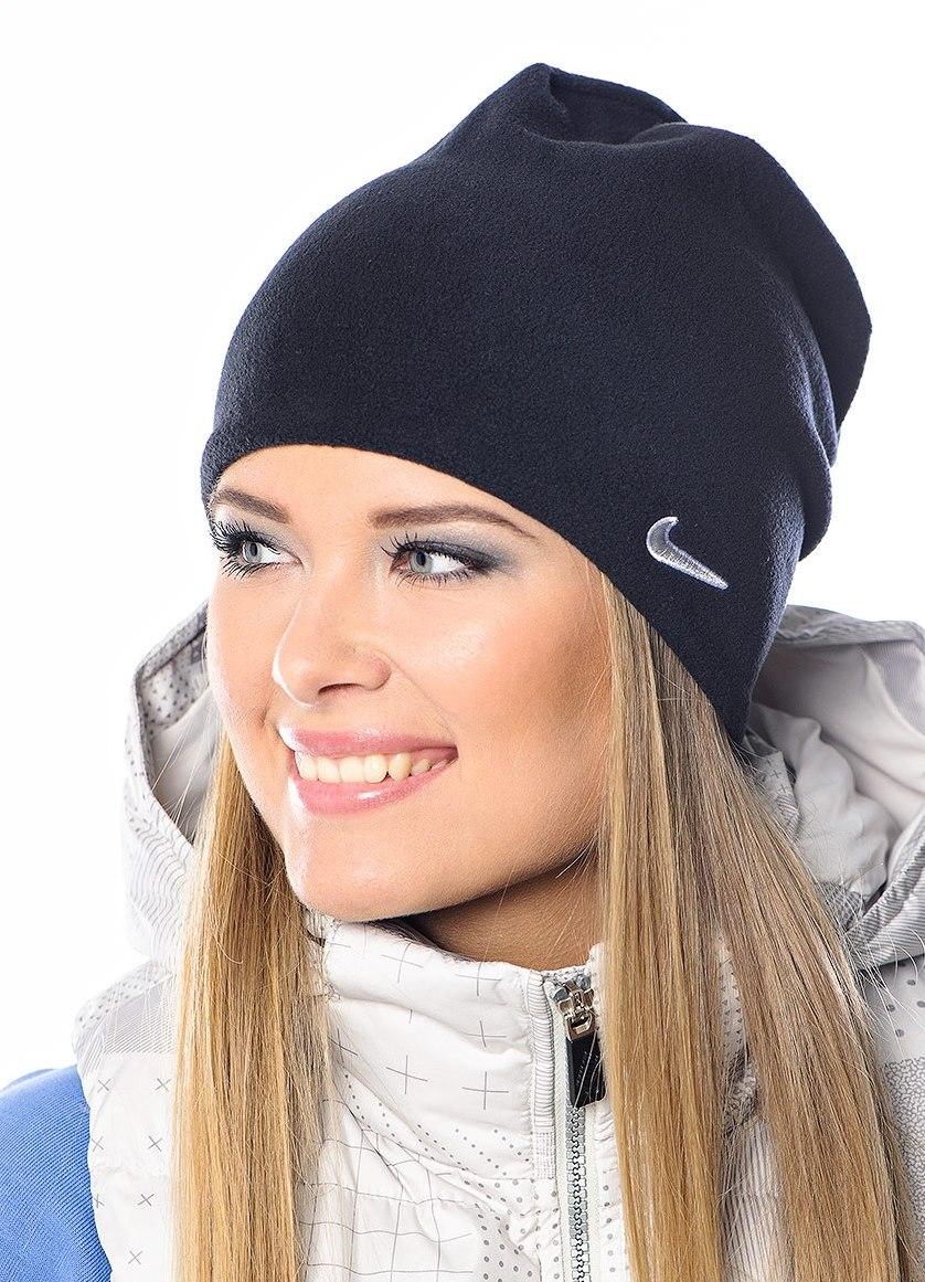 женские шапки из флиса