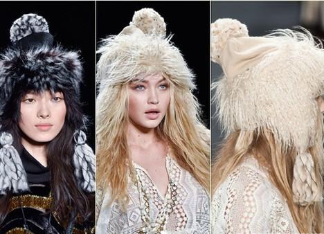 Меховые женские шапки - зима 2015-2016 aa739c1da572a