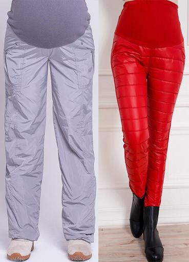 e7a32536d856 зимние брюки для беременных4 ...