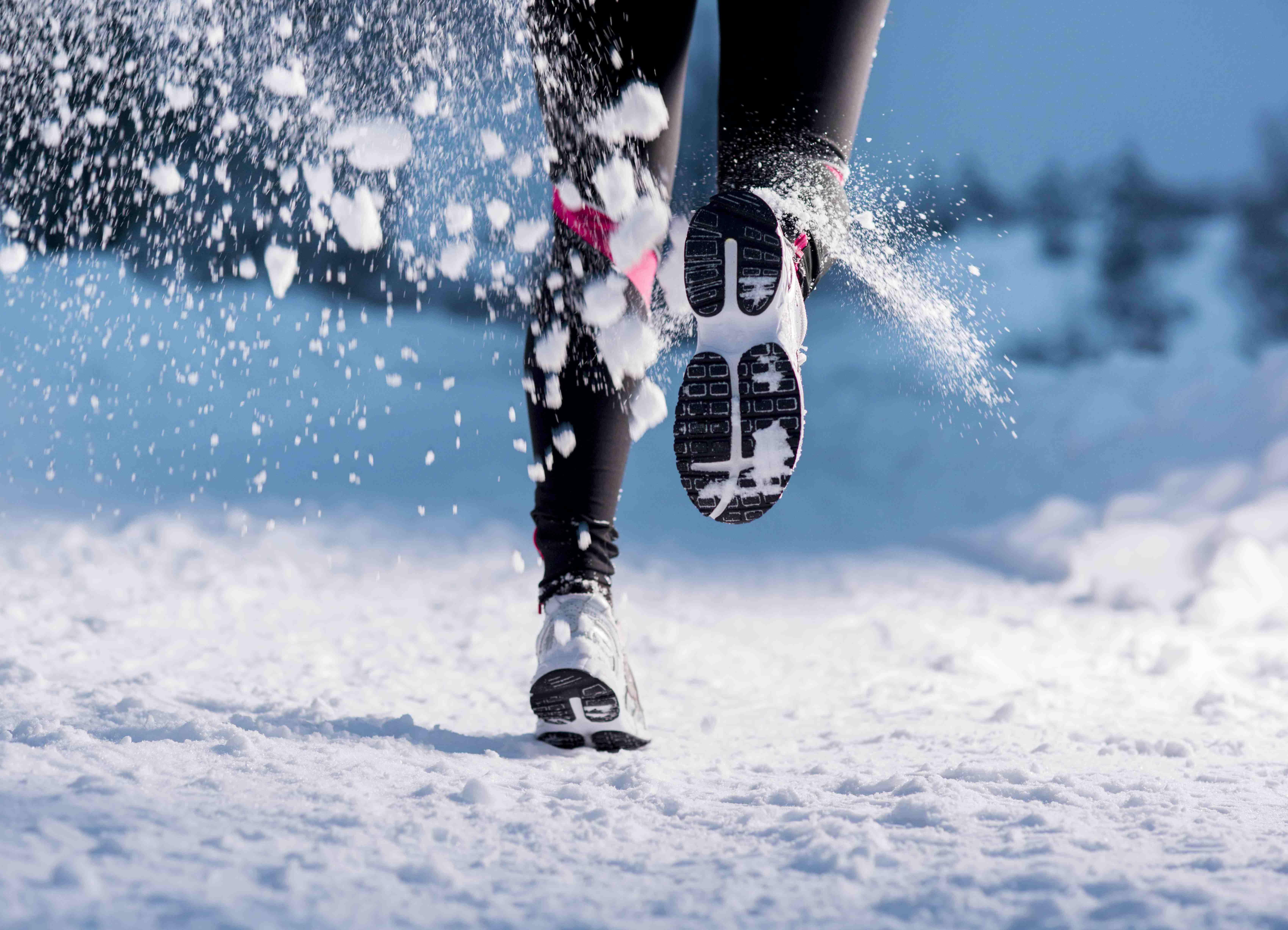 a5eb0e3b Кроссовки для бега зимой по снегу