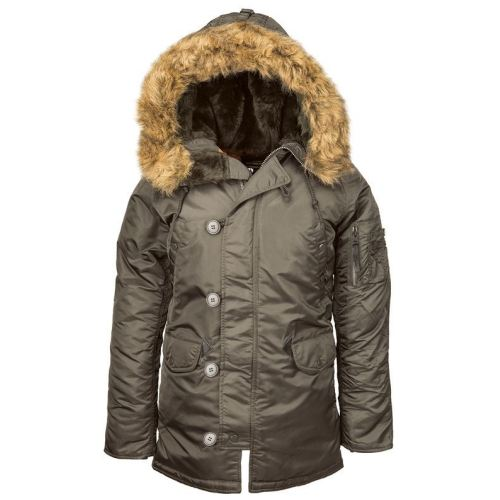 cb5d6547 Женская зимняя куртка Аляска