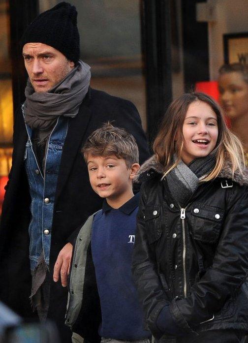Джуд Лоу: любимые женщины и внебрачные дети голливудского казановы (ФОТО )