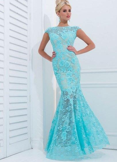 длинные вечерние платья с кружевом1 ... bc26e063f802f