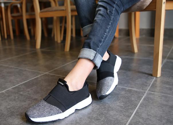 кроссовки женские без шнурков фото