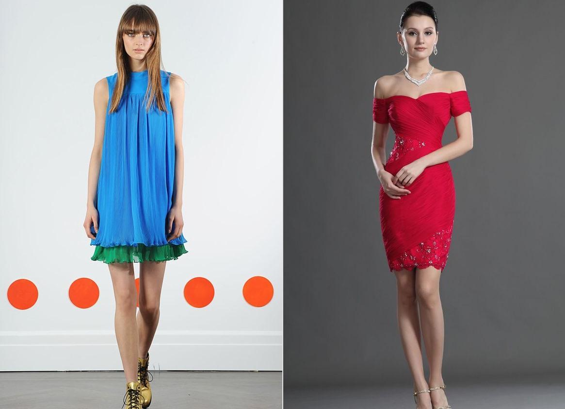 cdd58a862d9 модное платье 2016 цвета стили фасоны