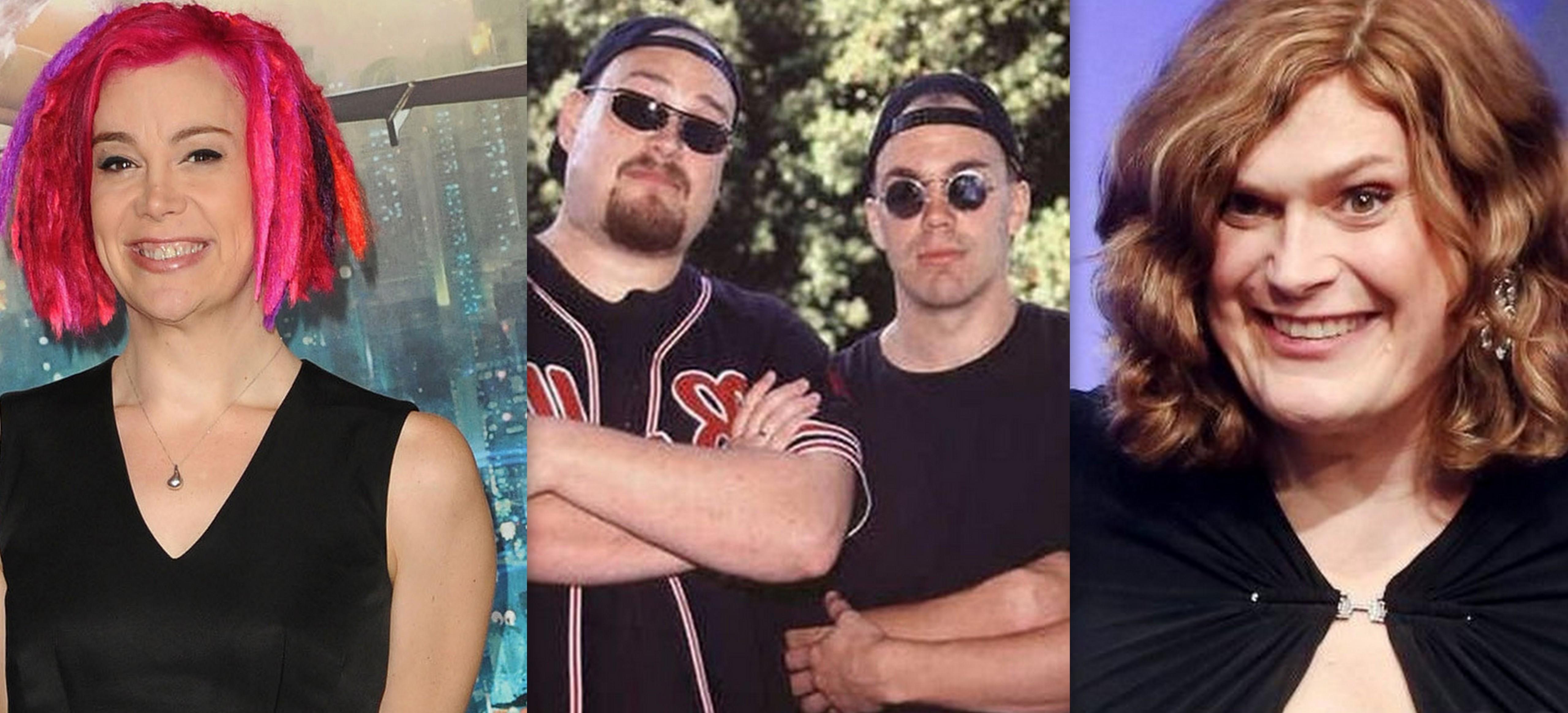 братья вачовски фото до и после смены берриман родился редким