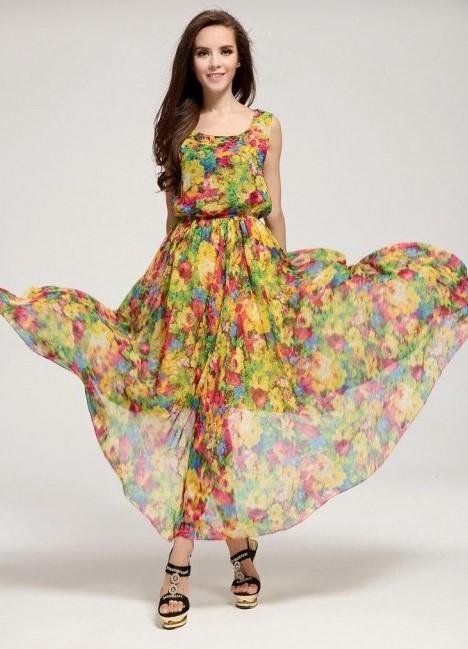 f710f5f2c68 Стильные летние платья 2016
