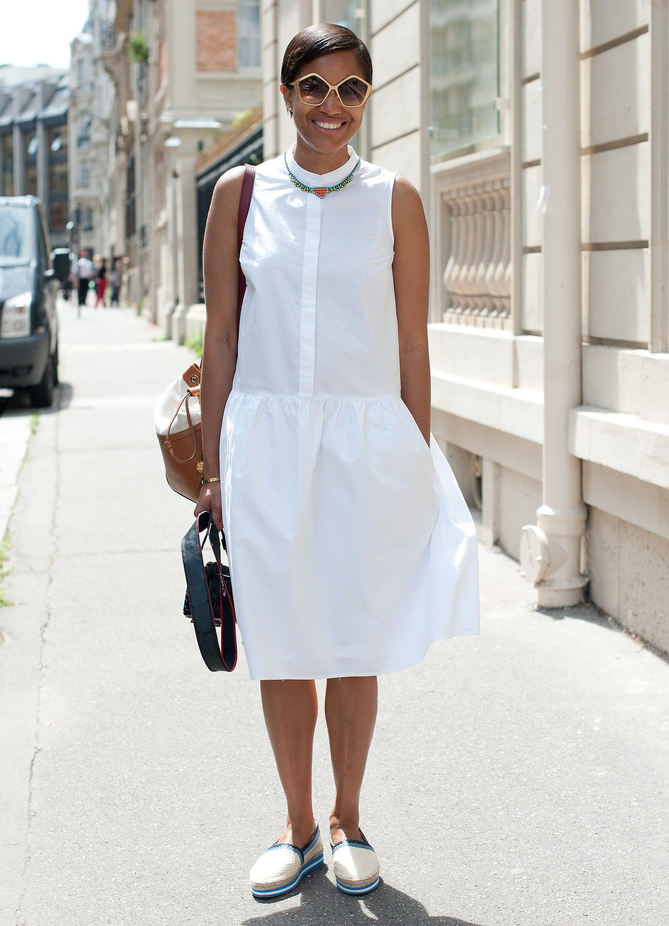 Белое Платье С Чем Носить Фото