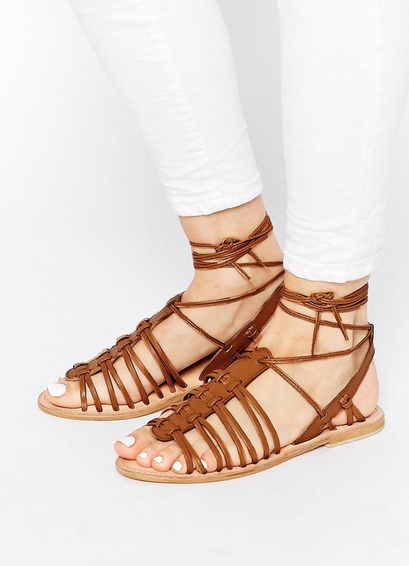 Летняя женская кожаная обувь 7a823d385be