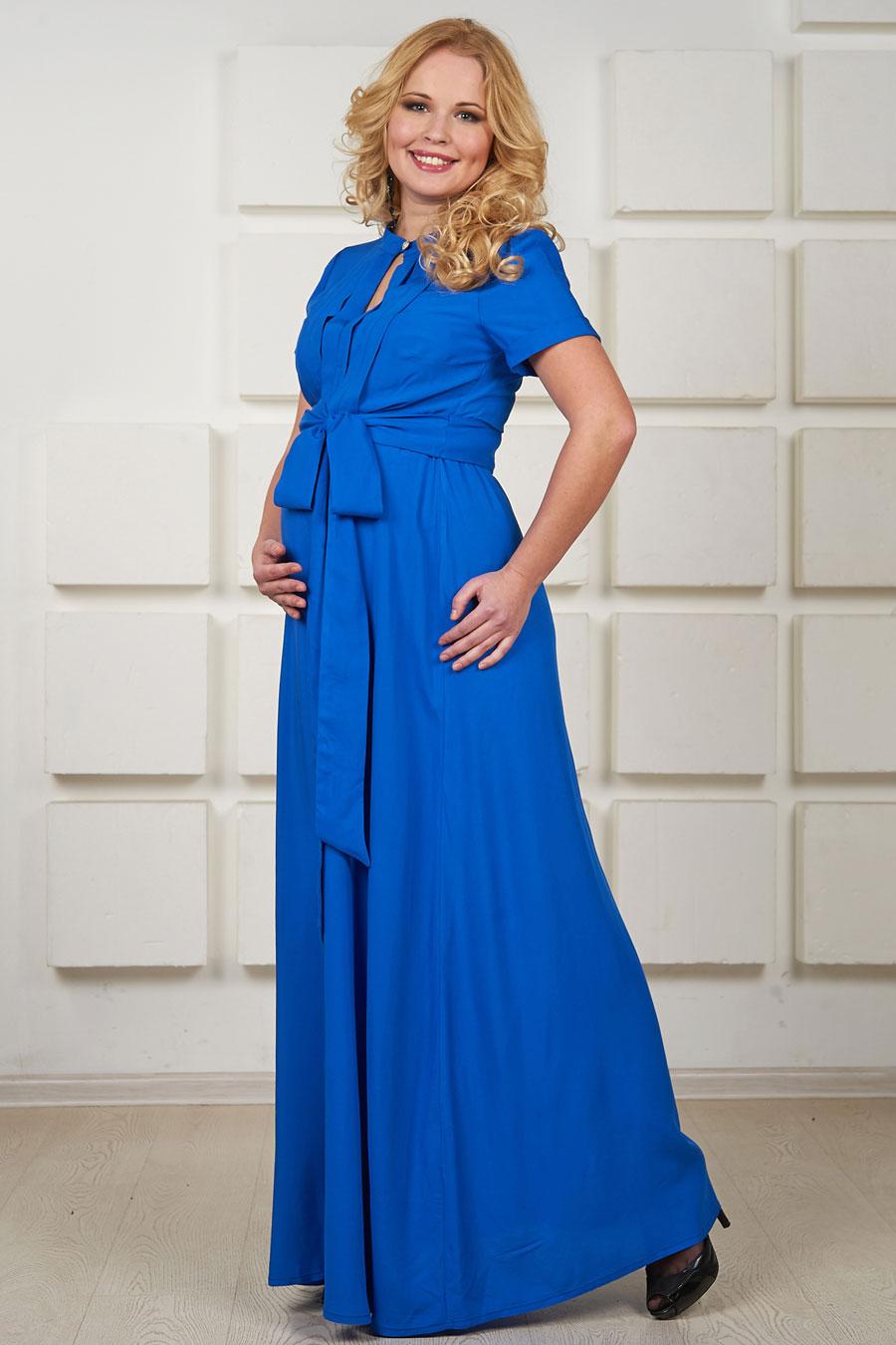 da30bac16422d06 Длинное летнее платье для беременных