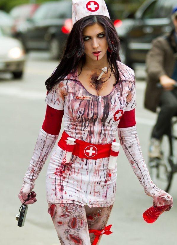 фото медсестра хэллоуин