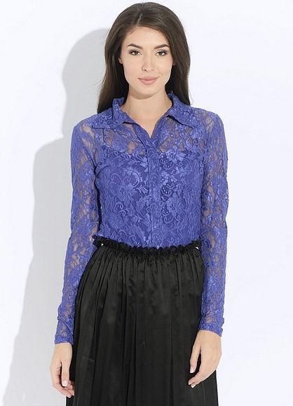 707ca7a4df5 Синяя блузка