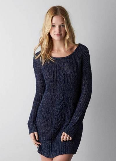0b07daf8930 вязаное платье свитер 1