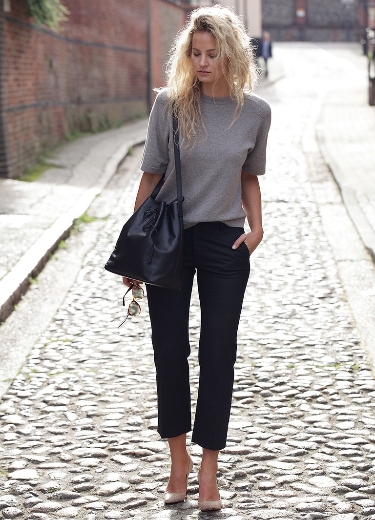 черные брюки с чем носить картинки узор