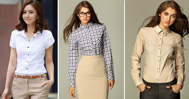 7b4bb5cba66 Женские рубашки – самые модные модели и расцветки