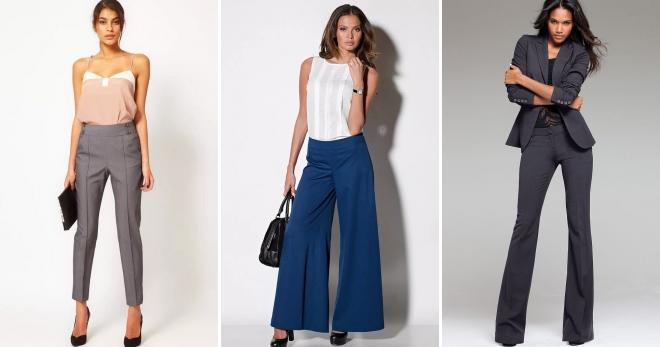Женские брюки – как подобрать с учетом особенностей фигуры?